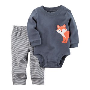 Baby Boy 2-Piece Bodysuit Pant Set | Carters.com