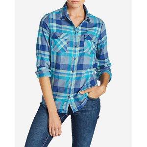 Women's Stine's Favorite Flannel Shirt - Plaid
