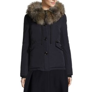 Malus Fox Fur Jacket