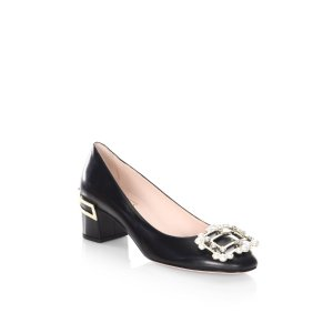 Isadora Leather Pumps