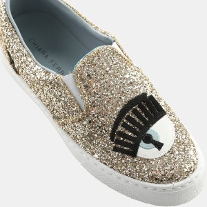 Lock and Key Flirting Glitter Slip-On Sneaker Sneakers