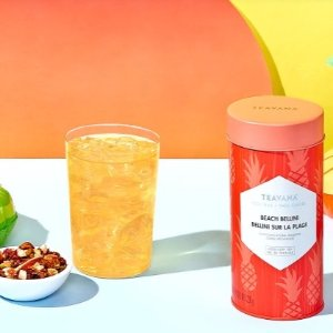 Beach Bellini is back! 20% OffWhen You Buy 1 LB Best-selling Summer Iced Tea @ Teavana