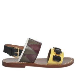 Jewel Front Sandal Marni