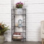 Amagabeli 3 Tier Wire Shelf Shelving Unit 14x11x43 inch Rustproof Metal Storage