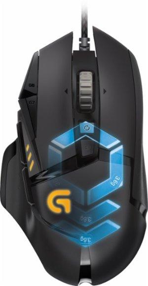 $44.99 (原价$79.99)比黒五低:Logitech G502 Proteus Spectrum RGB 游戏鼠标