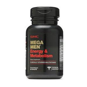 男士综合维生素,能量活力款 GNC Mega Men® Energy & Metabolism