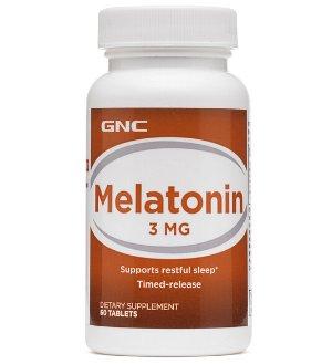 Only $4.99GNC Melatonin 3 mg 60 Tablets