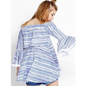 Blue Ocean Fringe Top SS0007