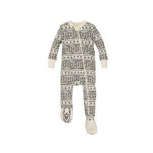 Baby Fair Isle Organic Cotton Sleeper