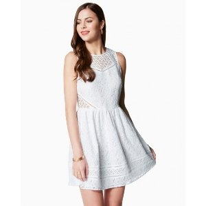Fit & Flare Lace Dress | Charming Charlie