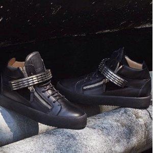低至5折+包邮无税黒五价:Giuseppe Zanotti Off-White Valentino 大牌男鞋超低价大促