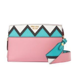 Prada Esplanade Small Saffiano Leather Shoulder Bag