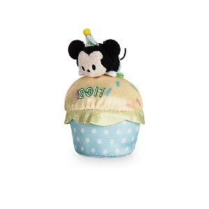 Mickey Mouse ''Tsum Tsum'' Plush - Birthday Cupcake 2017 - Mini - 4'' | Disney Store