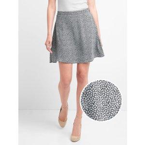 Floral print circle skirt | Gap