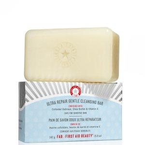 First Aid Beauty Ultra Repair Gentle Cleansing Bar (142g) | Buy Online | SkinStore
