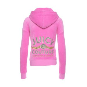LOGO VELOUR CERTIFIED GLAMOUR SUNSET JACKET - Juicy Couture