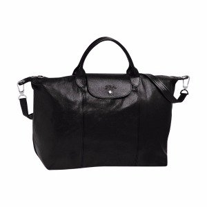 Longchamp Le Pliage Cuir Large Handbag
