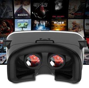 CDN$12史低价 Virtoba X3 Immersive 3D VR 虚拟现实眼镜