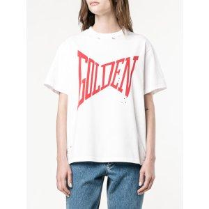 Golden Goose Deluxe Brand 'golden' Print T-shirt - Farfetch