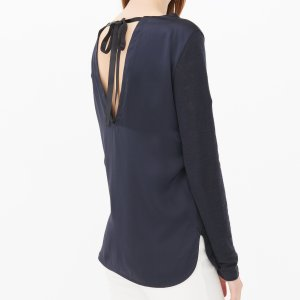 Blue T-Shirt - Tops & Sweaters - Sandro-paris.com