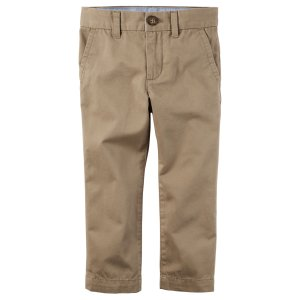 Baby Boy Twill Trousers | Carters.com