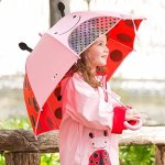 Skip Hop Zoo Little Kid and Toddler Umbrella, Multi Livie Ladybug