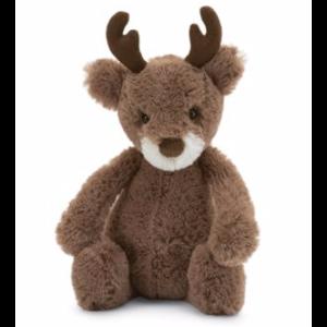 鹿毛绒玩具