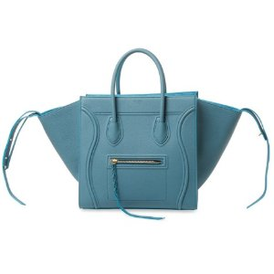 Céline Luggage Phantom Medium Leather Tote