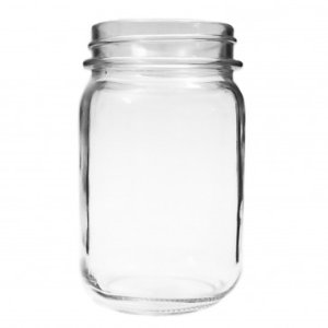ANCHOR HOCKING Canning Jar Glass Set of 6, 16oz - Friday Frenzy Sale - Sale