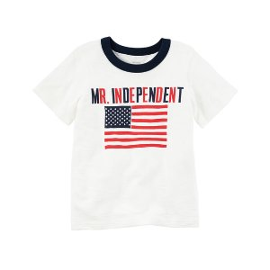 Mr. Independent Fourth Of July Ringer Tee