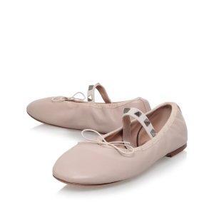 Valentino Garavani Rockstud Mary Jane Ballet Flats | Harrods.com