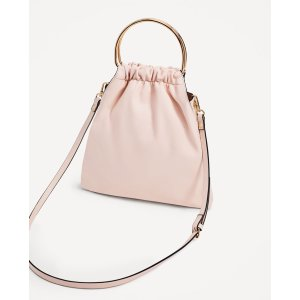 SOFT TOTE WITH METALLIC HANDLES - View all-BAGS-WOMAN | ZARA United States