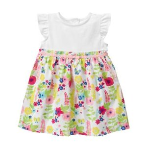 Baby Watercolor Blooms Floral Dress by Gymboree