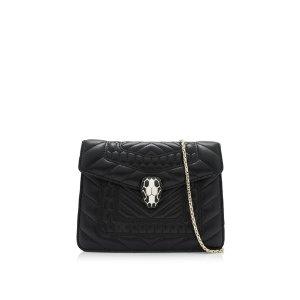 Bvlgari Serpenti Forever Flap Cover Mini Shoulder Bag