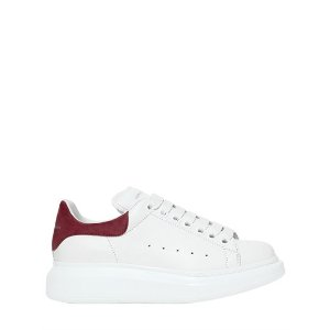 ALEXANDER MCQUEEN - 40MM LEATHER & SUEDE SNEAKERS
