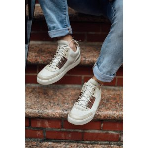 MEN'S AMHERST HIGH-TOP CANVAS CHUKKA SHOES