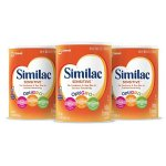 Similac Advance Infant Formula with Iron, Powder, One Month Supply (3 Packs of 36 Ounces)