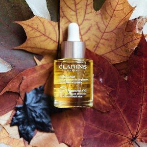 Up to 25% OffFace Treatment Oils @ Clarins
