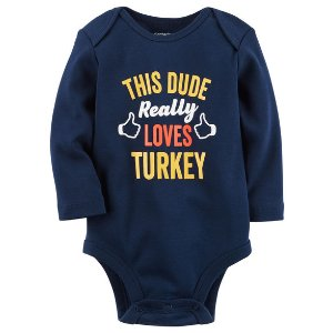 This Dude Loves Turkey Collectible Bodysuit