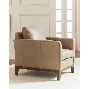 Eben Leather Club Chair