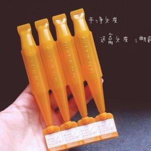 直邮中美!$5.37/RMB36.9前男友发膜家 玫丽盼 头皮护理 头皮清洁剂 9ml*4 特价