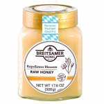 Breitsamer Creamy Honey in Jar, Rapsflower, 17.6 Ounce
