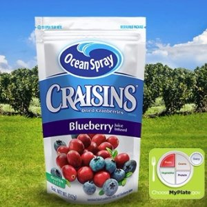 $5.41Ocean Spray Craisins Dried Cranberries Juice, Blueberry, 6 Ounce (Pack of 12)