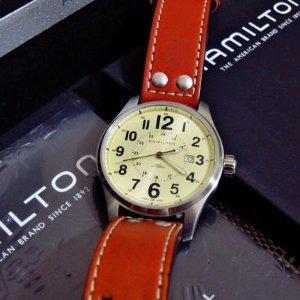 $329Hamilton Men's Khaki Field Auto Watch H70615523