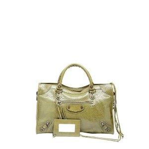 Balenciaga Classic City Crinkle Calf Bag