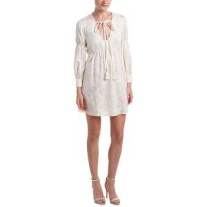 Rachel Zoe Rachel Zoe Chariot Silk-Blend Shift Dress (438131501) | Bluefly.Com