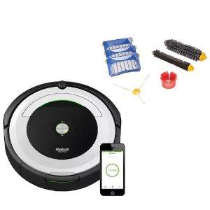 $314.49+送$90 Kohl's CashiRobot Roomba 695 蓝牙扫地机器人+补充工具套装