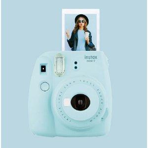 Fujifilm instax mini 9 Instant Film Camera Blue 16550643 - Best Buy
