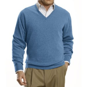 Traveler Cashmere V-Neck Sweater CLEARANCE - All Clearance | Jos A Bank