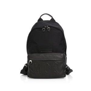McQ Alexander McQueen - Embossed Logo Backpack